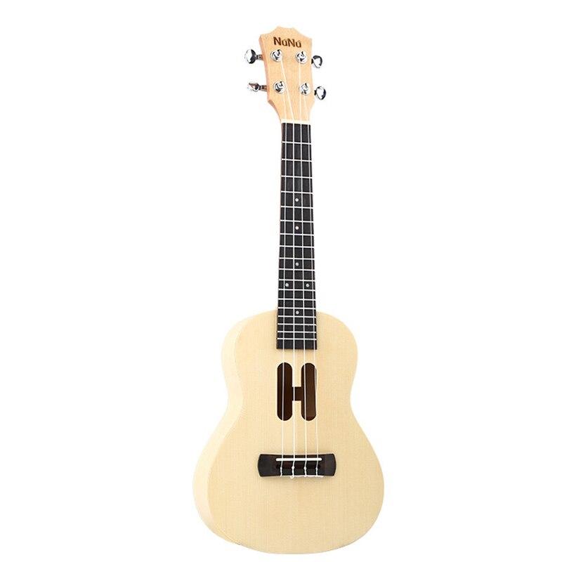 Ukulele 23 Inch Mini Guitar Maple For Beginner Student Gift 4 Nylon Strings Acoustic Guitar Cartoon