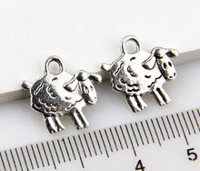 40pcs charms zodiac earring making pendants for bracelet Sheep charm jewelry