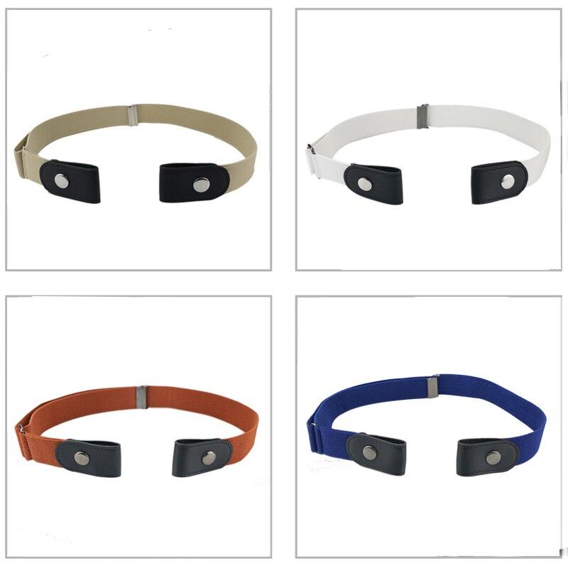Maikun Unisex Buckle Free Elastic Belt for Jeans Pants Dresses No Buckle Stretch Invisible Elastic Waist Belt For Women Men