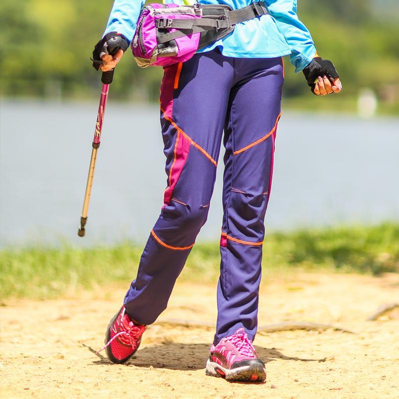 Sneldrogende nieuwe outdoor softshell wandelen elastische broek - Sportkleding en accessoires