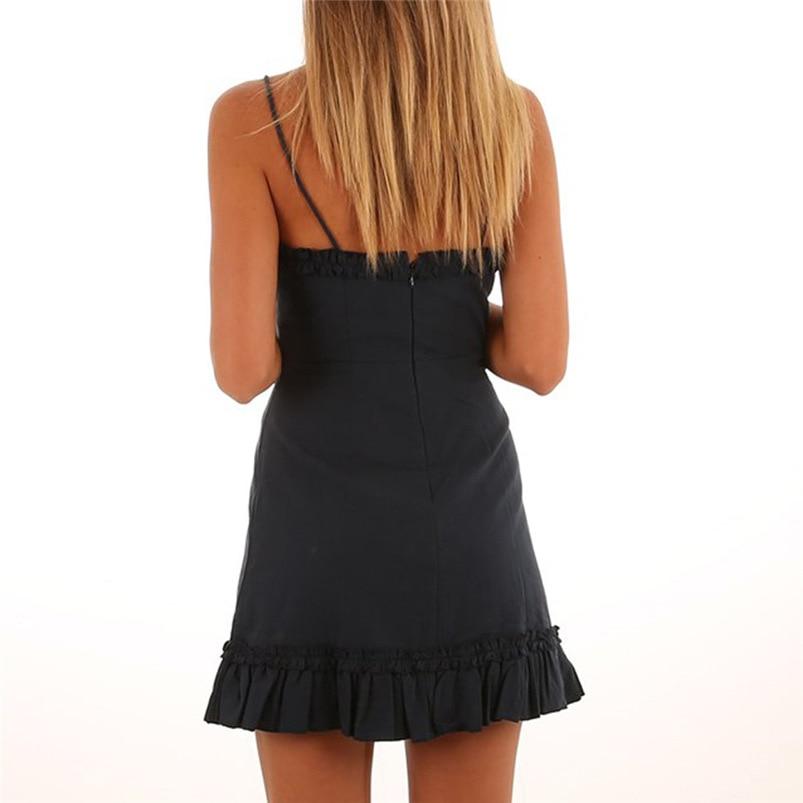 ... 2018 summer dress sexy beach black bandage dress bodycon holiday  Backless mini party dress sleeveless vestidos ... d9c9f6861953