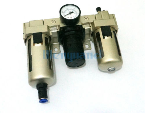 AC4000-04D Automatic Drain G1/2 Air Source Treatment Unit Pneumatic Lubricator+Filter+RegulatorAC4000-04D Automatic Drain G1/2 Air Source Treatment Unit Pneumatic Lubricator+Filter+Regulator