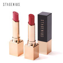 STAGENIUS Matte Lipstick Moisturizer high pigment lips tints makeup sexy beauty red matte lipstick for lady cosmetic