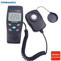 TENMARS TM201 цифровой светодиодный свет Meter люминометр Люкс метр