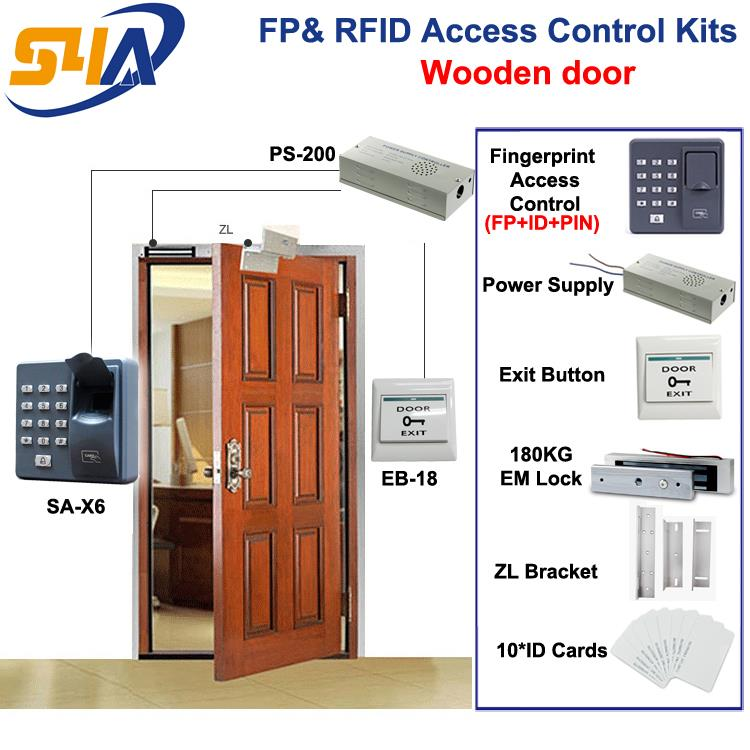 X6 Fingerprint RFID Access Control Kits italians gentlemen пиджак