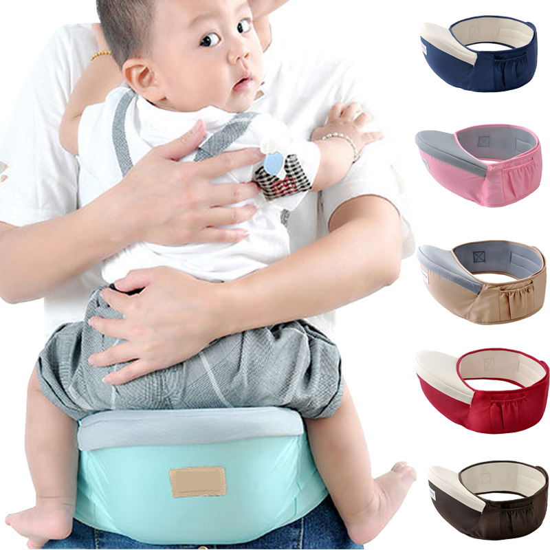 Baby Carriers Hip Seat Soft Anti-slip Newborn Travel Waist Belt Backpack Comfortable Baby Hold Waist Belt Carrier
