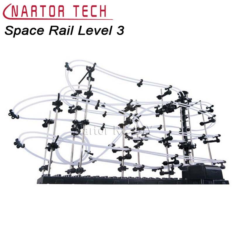 Puzzle jouets espace Rail niveau 3 No.231-3 Rail bricolage modèle Kit jouets éducatifs
