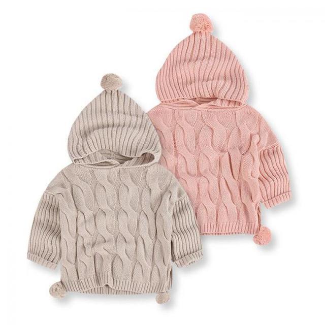 1-5y Crianças Dos Miúdos Designer Meninas Princesa Cardigan Sweaters Pulôver de Algodão Para A Primavera Outono