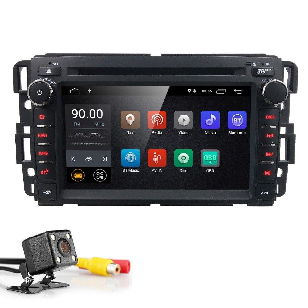 Hizpo 7 Android 2Din головное устройство автомобиля Радио DVD мультимедиа плеер для GMC Chevrolet Buick SIL VERADO регулярные /Расширенные/Экипаж RDS