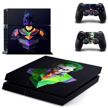 Batman:Joker Ps4 Skin Sticker Case Cover for Sony PlayStation 4 and for Two PS4 Controllers