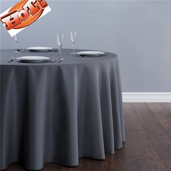 10pcs grey round christmas tablecloths in 70 39 39 in for 120 table runner christmas