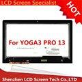 LTN133YL03-L01 Для Lenovo Yoga 3 Pro 13.3 ЖК-Экран Панель С Сенсорным Экраном Дигитайзер Ассамблея Стеклянный Объектив Ремонт Части
