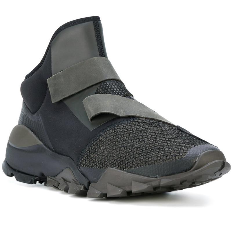 1 On Hombre 2 Entrenador Genuino Alta Hop Grueso Slip Harajuku Cuero Hip 2019 De Baile Hombres Plataforma Zapatillas Nuevos Deporte Zapatos Moda 1qIHAR