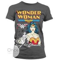 DC Comics Wonder Woman Classic Women S T Shirt Gift Casual Cotton Tee USA Size XS