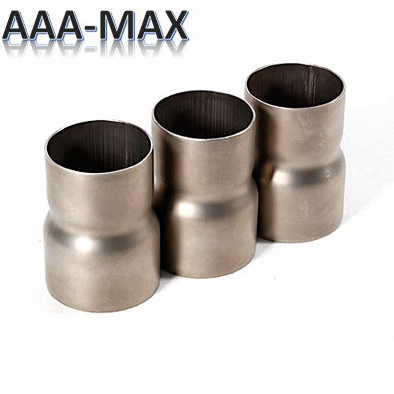 Tubo di scarico in acciaio inox riduttore adattatore del connettore