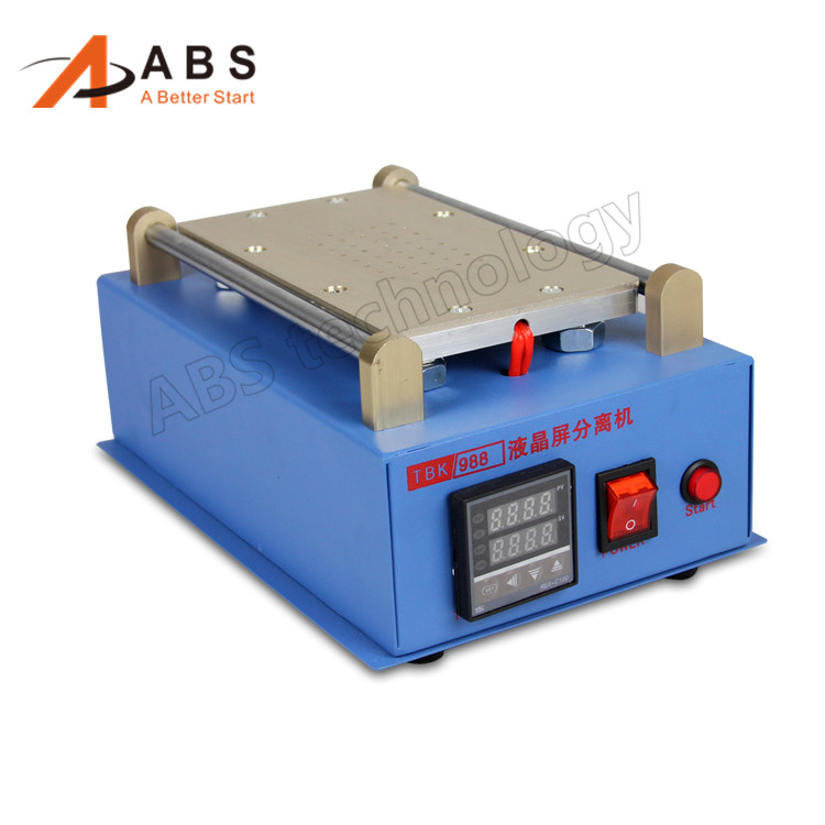 newest 7 inch lcd separating tbk 988 with built in vacuum pump touch screen separator machine for mobile phone repairing Hot ! 7 inch Lcd With Built-in Vacuum Pump Touch Screen Separator Machine For Mobile Phone Repairing