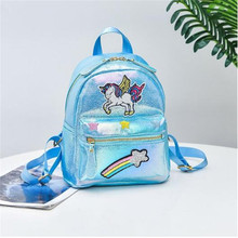 Mini Glittering Unicorn Backpack