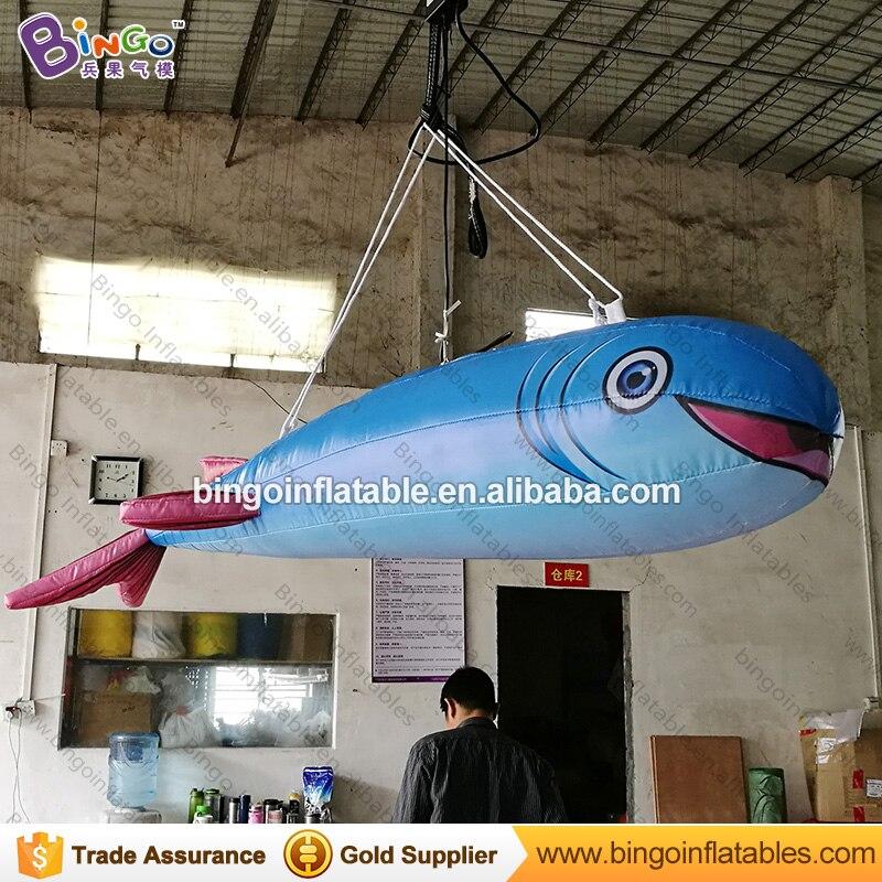 Индивидуальные 1,5 м Длинные надувные рыбка декоративные цифровой печати рыбка надувные для украшения игрушки