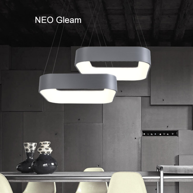 Neo Gleam Modern Led Pendant Lights Real Lampe Lamparas For