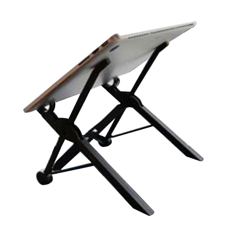 Folding Laptop Stand Portable Notebook Stand Bed Height Adjustable Folding Stand Bracket DesktopFor MacBook Laptop Table lapdesk