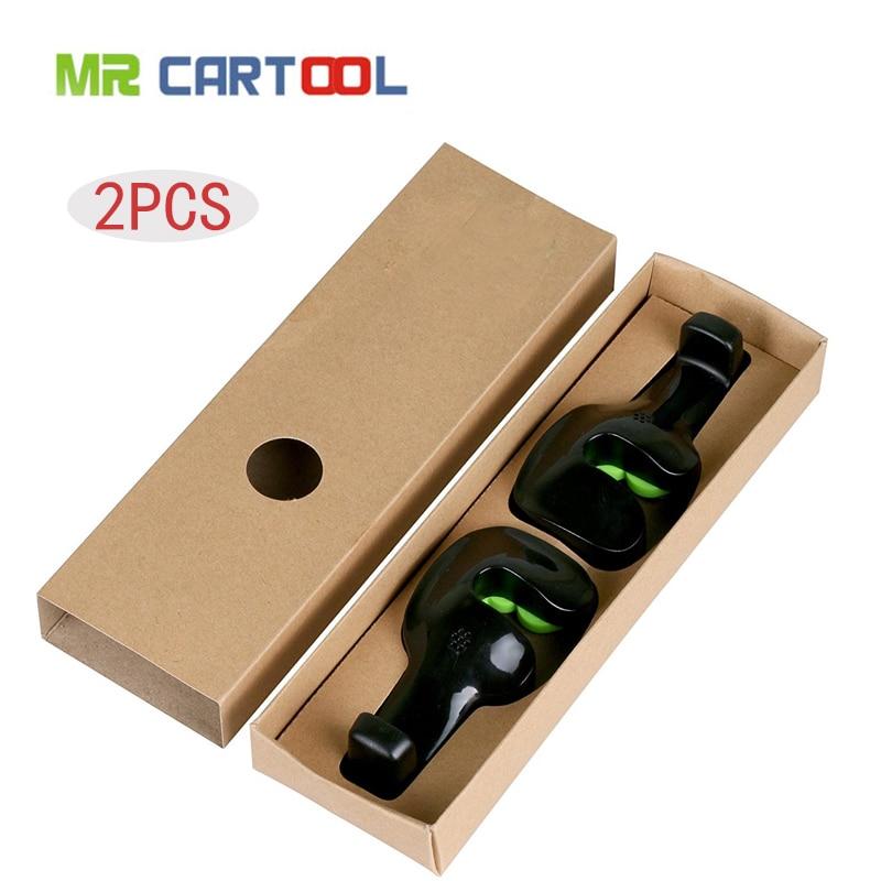 Mr Cartool 2Pcs Car Seat Hook Vehicle Headrest Bag Hanger Automobile Plastic Clips Fastener Clip Auto Portable Seats Holder