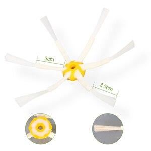 Image 4 - Brosses de roue avant et filtre plat pour iRobot Roomba 500 Series 520 530 540 550 560 570 580 pièces de rechange pour aspirateur