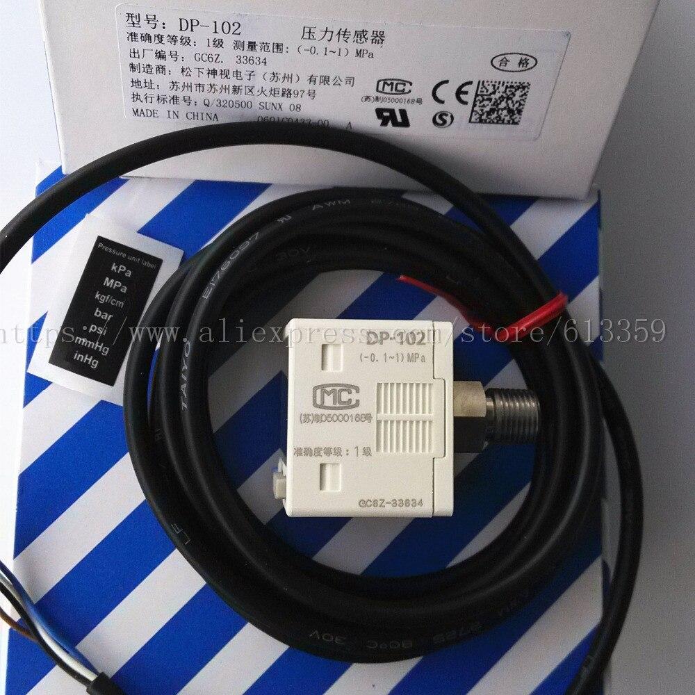 Dp 102 Npn Digital Vacuum Positive Pressure Sensor Turck Wiring Diagram Controller 01 1 Mpa 146 To 1464 Psi 100 New Original In Sensors From Electronic