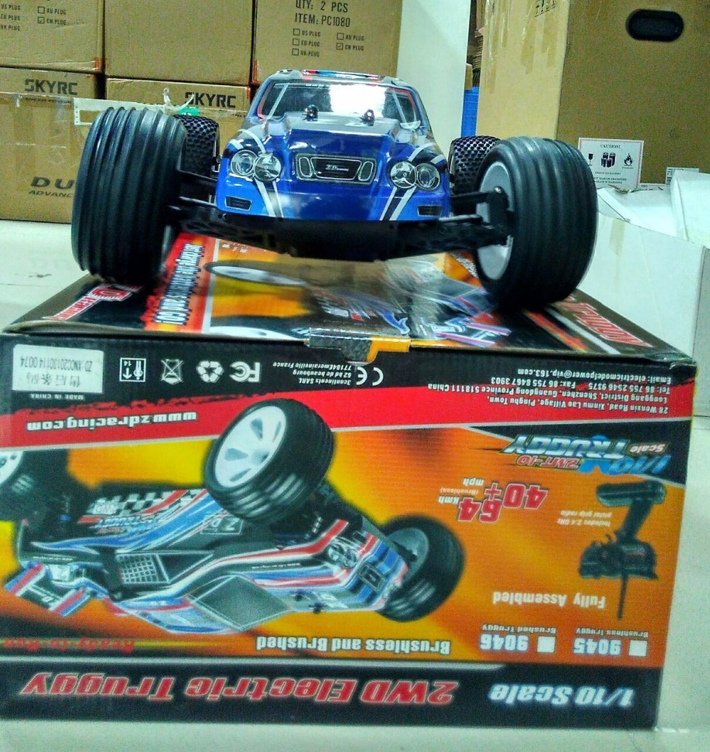 2 WD Racing 1/10 Four-Wheel Two-Speed Racing Car Brushless Off-Road Toy Car playstation move racing wheel