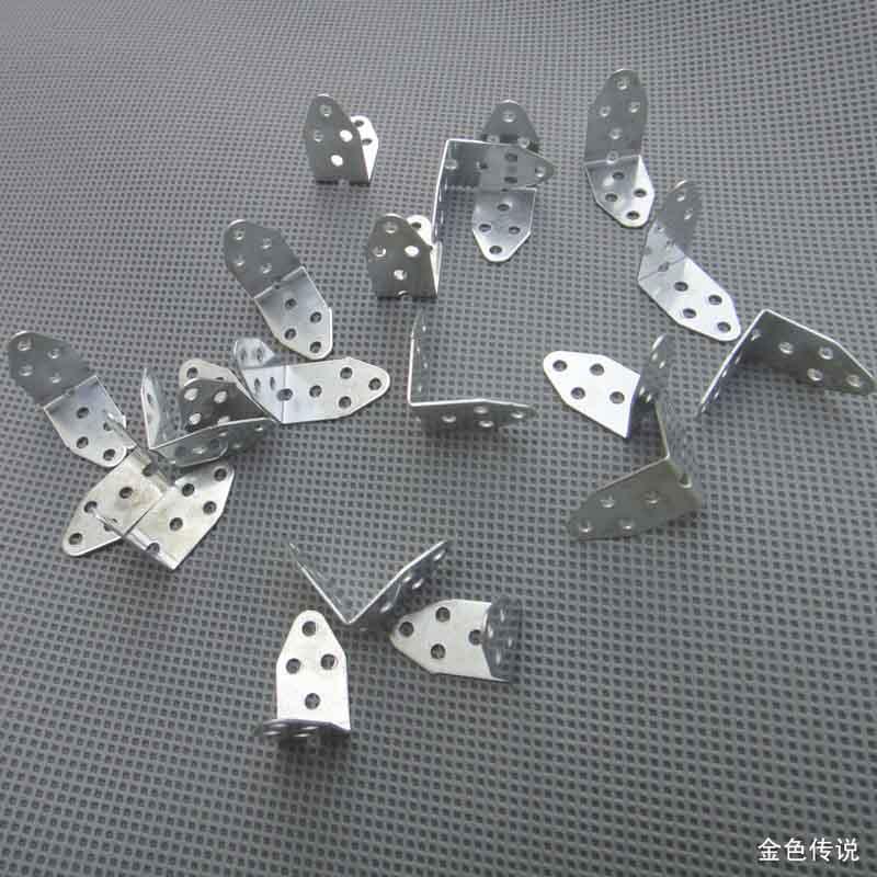 20 штук L типа Металл Слива рамка мост угол светильник DIY игрушка аксессуары модель авт ...