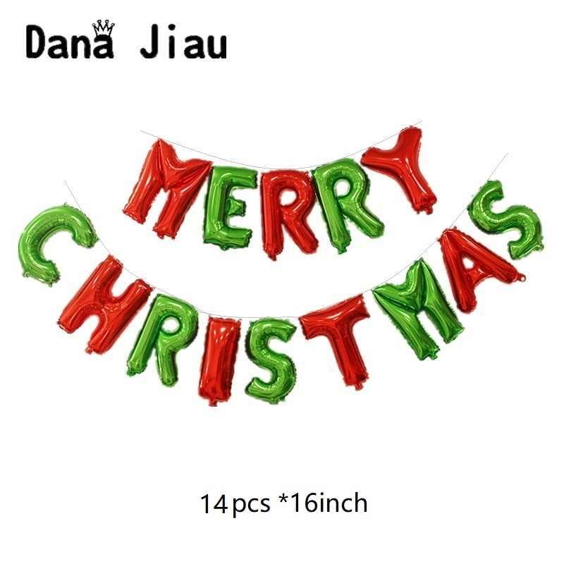 Веселая Рождественская елка украшения воздушный шар счастливый Новогодний подарок для детей вечерние DIY баллон мальчик Санта Клаус Снеговик ручной светильник мяч