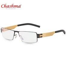 2018 NEW Glasses Frames IC Germany Unique No screw Design Eyeglasses Ultra Light thin Men Myopia Spectacle Frame