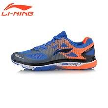 Li-ning Hombres Soporte de TPU Revestimiento Textil Cojín Zapatos Corrientes Respirables de las Zapatillas de deporte Calzado Deportivo ARHM057