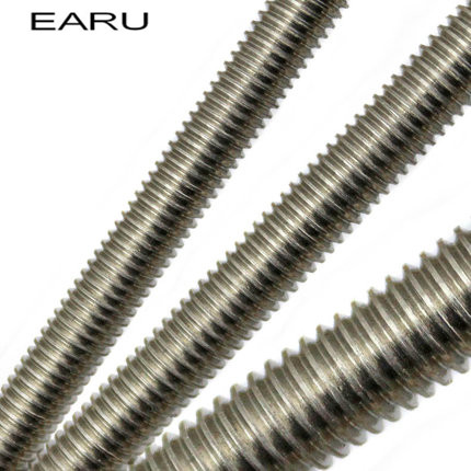 1 piece M6*250mm 316 Stainless Steel Wire Through Metric Rust Screw Teeth Screw Bolt Extension 10 pieces metric m6 30 mm 201 stainless steel eyelet bolt fasteners