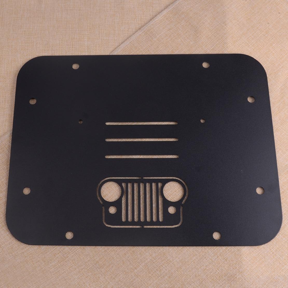 DWCX support de pneu de rechange supprimer plaque de remplissage tampon de Tramp pour Jeep Wrangler JK JKU 2007-2018