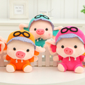 Plush toys Wedding dolls small doll, cute Pig Air Force pilot, creative gifts, Christmas gifts
