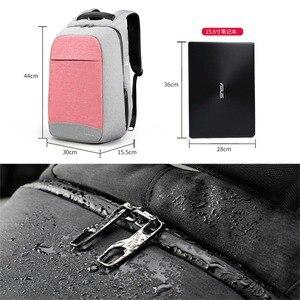"Image 2 - Multiแฟชั่นหญิงFeminina Mochilaสีชมพู15.6 ""แล็ปท็อปป้องกันการโจรกรรมกระเป๋าเป้สะพายหลังผู้หญิงกระเป๋าเป้สะพายหลังโรงเรียนสำหรับสาวกระเป๋า"