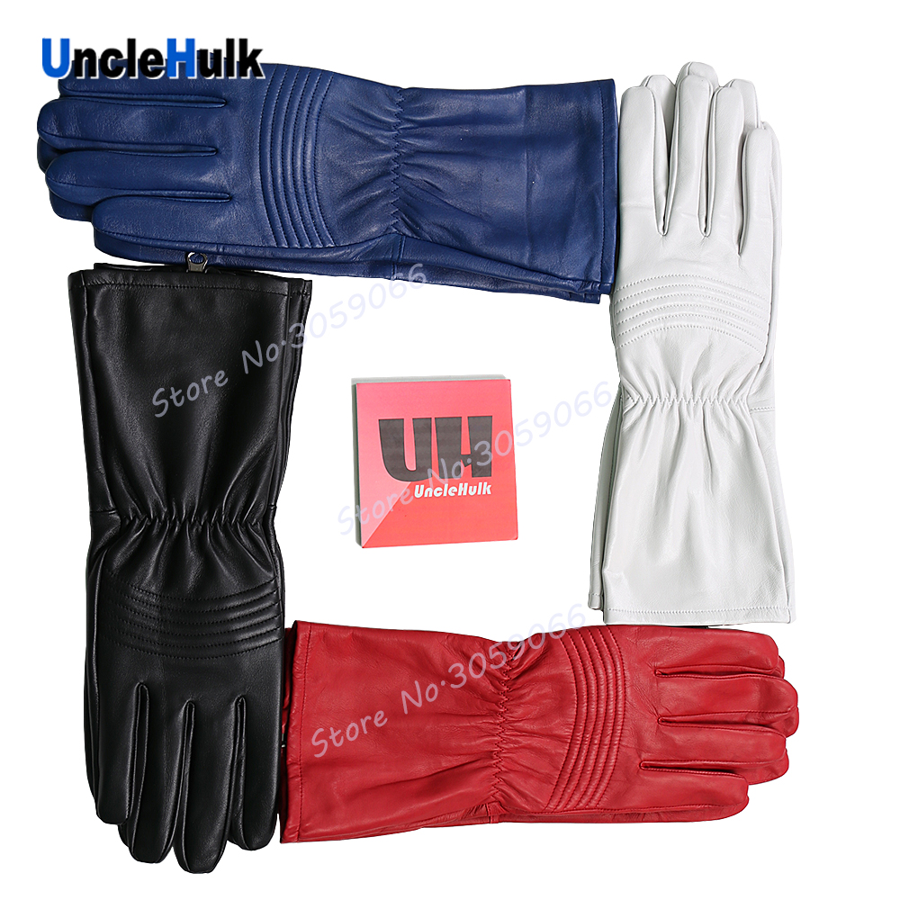 Super Sentai s Genuine Leather Gloves Cosplay Props Masked Rider Gloves one size only UncleHulk