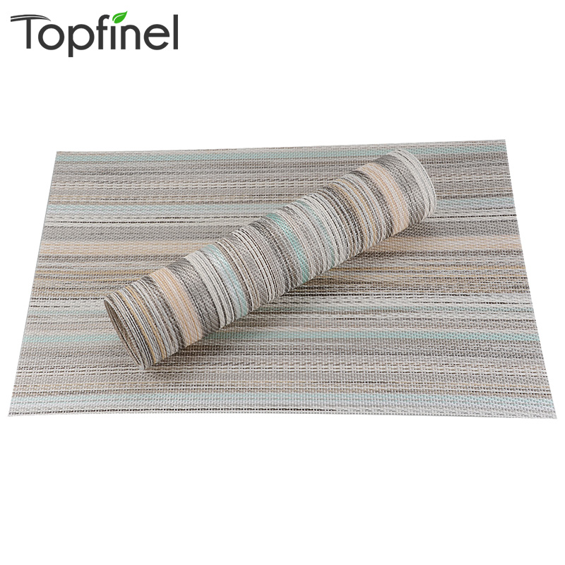Aliexpresscom Buy Top Finel Set of 8 PVC Decorative  : Top Finel Set of 8 PVC Decorative Washable Placemats for Dining Table Runner Linens Heat resistant from www.aliexpress.com size 800 x 800 jpeg 199kB
