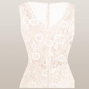 Image 5 - מלאך אופנת נשים של V צוואר תחרה שמלת ערב קפלים רצועת כלים בת ים המפלגה שמלת משמש 428 418