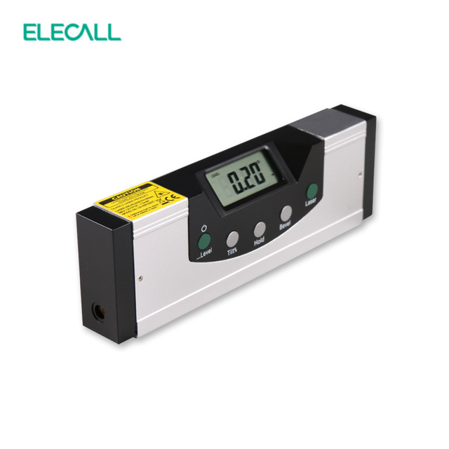EM5416-150 High Quality LCD Multipurpose Level Laser Horizon Vertical Measure Tape The Horizontal Ruler Measure tool