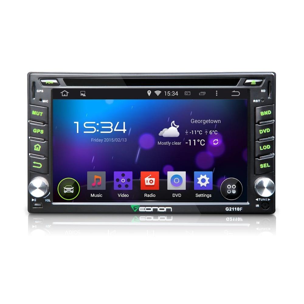 "Eonon G2110F 6.2"" 2Din Android 4.4.4 Car DVD GPS KitKat"