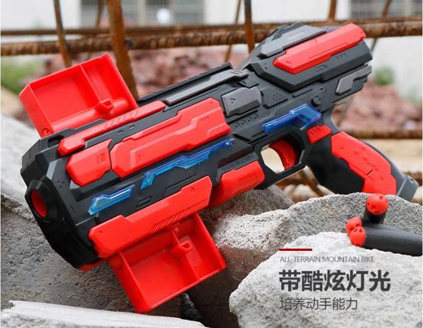 2019 Новое поступление картридж ручной мягкий пулевидный пистолет костюм для Nerf пули игрушечный пистолет Дротика бластерный игрушечный пистолет для детей