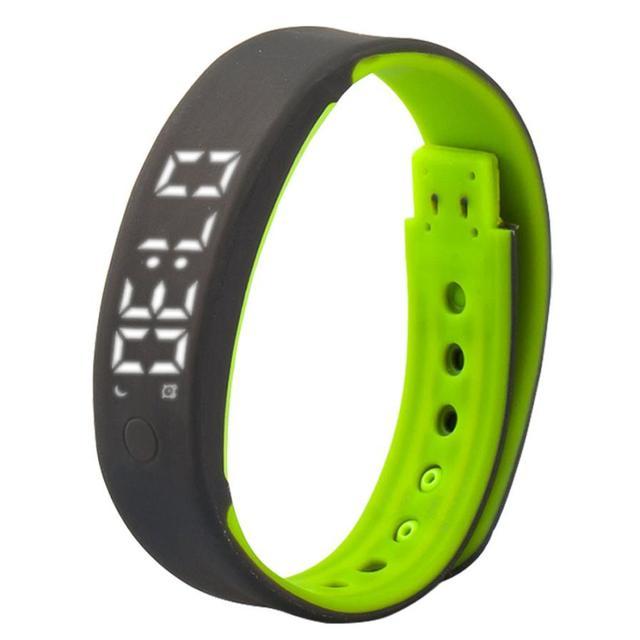 Hábil nueva a7 deporte podómetro sleep monitor de smart watch pulsera de apoyo pc smartphone app s61026 envío de la gota