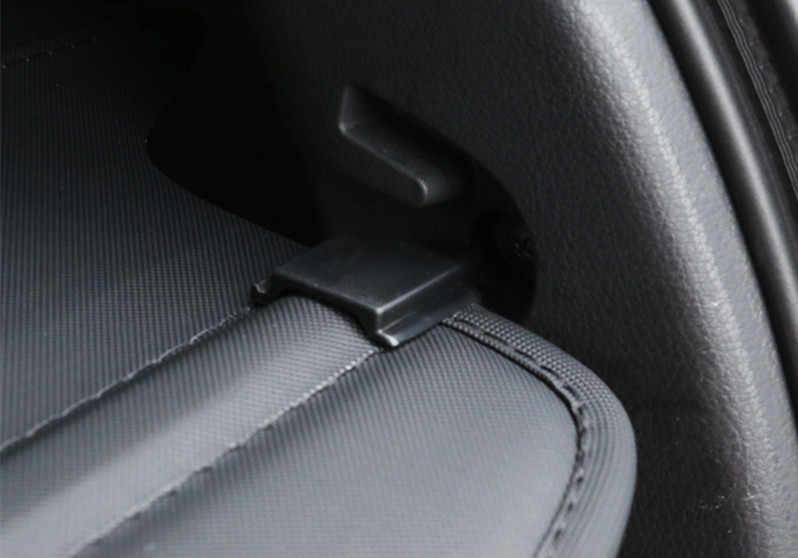 Posteriore Pacchetto Scaffale styling Auto PER Mitsubishi Outlander Tronco Tenda Materiale di Copertura Posteriore Tenda A Scomparsa Spacer Posteriore Rastrelliere