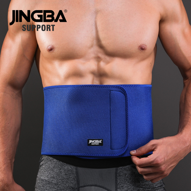 JINGBA SUPPORT Professional Adjustable Waist trimmer Slim fit Abdominal Waist sweat belt Waist back support belt Fitness 1