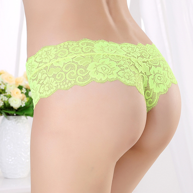 Lace Low Waist Panties