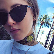 Fashion Cheap Metal Frames Sun Glasses Women Cat Eye Sunglasses