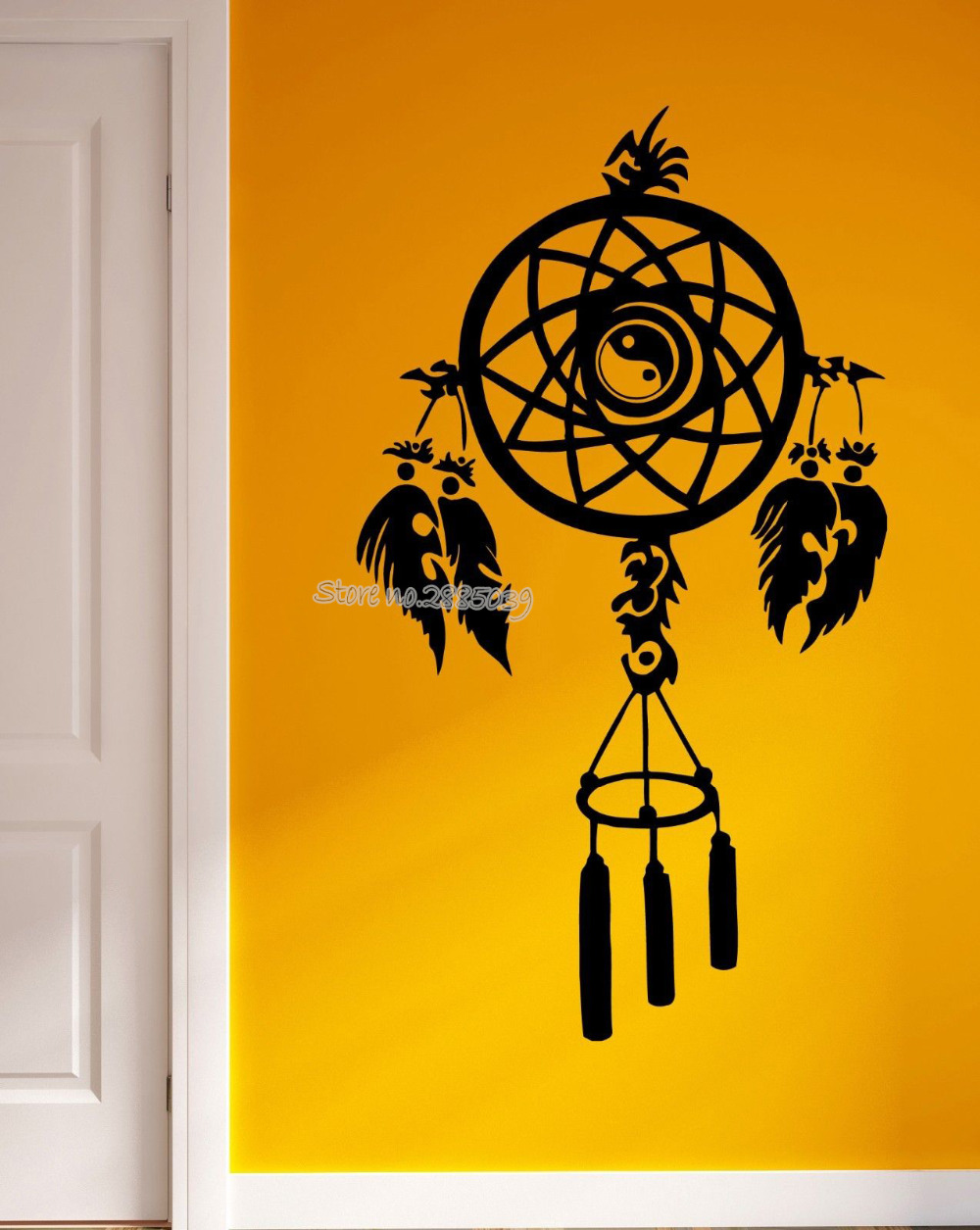 Unique Dream Catcher Wall Decor Crest - Wall Art Collections ...