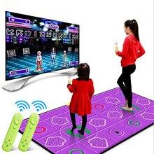 15 MM Brillante manta de baile alfombra de baile de yoga masaje con Sensor de Movimiento pc TV jugar juegos de Fitness, sensación Corporal 2 mando a distancia