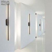 Современный минималистский дизайн 12 Вт светодио дный настенный светильник для арт галерея, промышленных высокого класса showroom бра, искусств